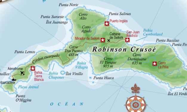 Où se trouve l'île de Robinson Crusoé ?