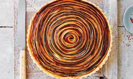 Tarte spirale belle et bonne!