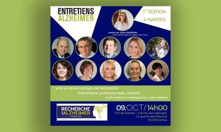 France – Première édition des entretiens Alzheimer à Nantes.