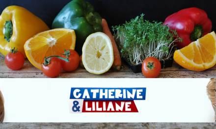 Catherine et Liliane: 5 (petits) fruits et légumes par jour.