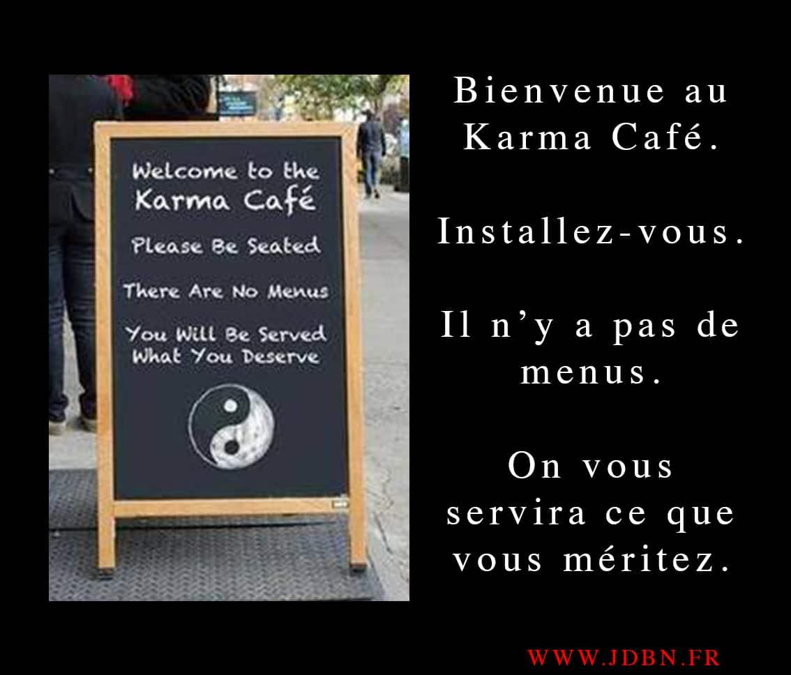 Bienvenue au Karma Café