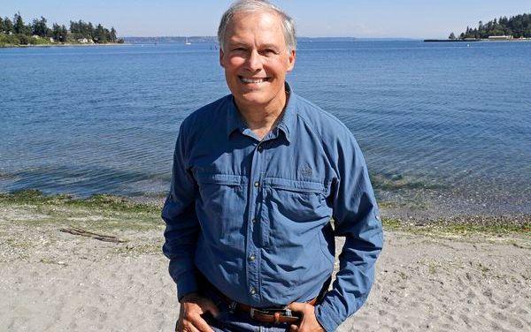 USA : un gouverneur Jay Inslee candidat à la présidence avec l'environnement pour priorité
