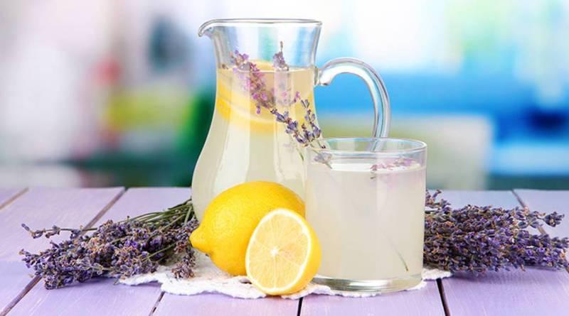 Limonade de Lavande pour traiter l'anxiété, l'insomnie, la dépression, la nervosité, l'envie de sucreries