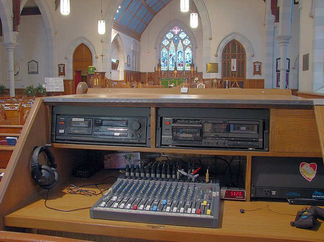 Church Sound System and Church Acoustics Consultant