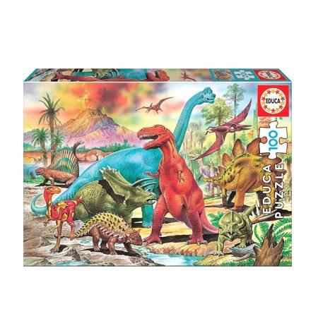 Puzzle 100 Dinosaurios – Educa