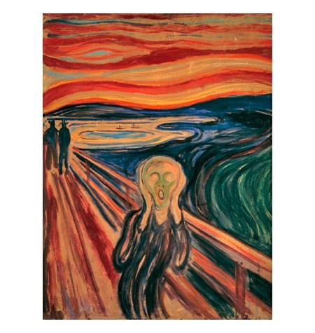 Puzzle 1000 ART El Grito, Munch