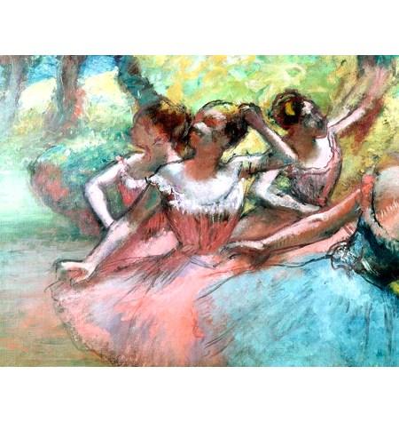 Puzzle 1000 ART Four Ballerines, Degas