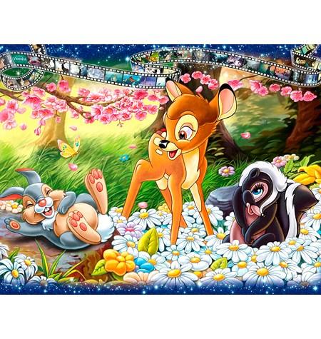 Puzzle 1000 – DISNEY – Bambi – Ravensburger