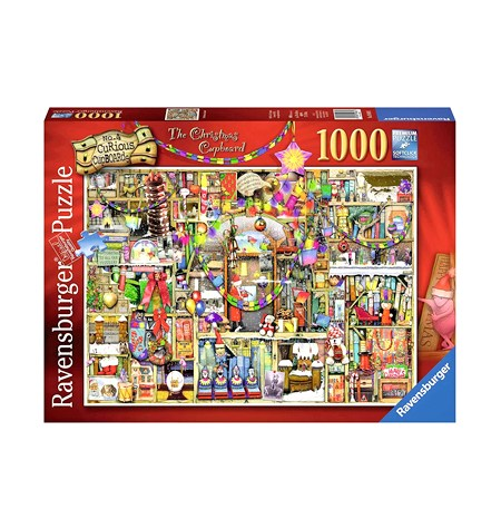 Puzzle 1000 Colin Thompson – The Christmas Cupboard – Ravensburger