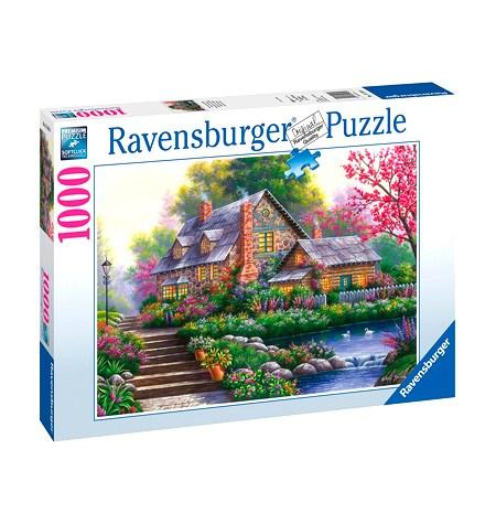 Puzzle 1000 Cabaña Romántica
