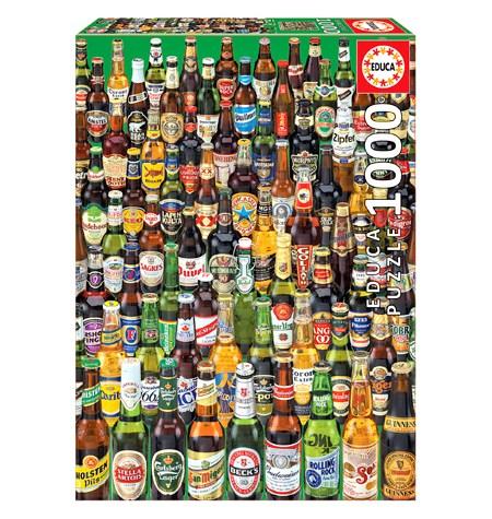 Puzzle 1000 Cervezas – Educa