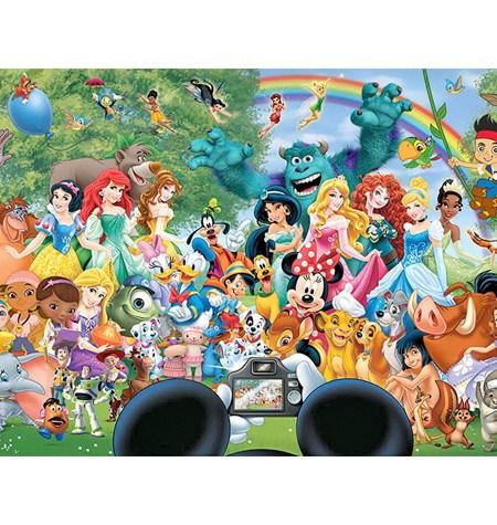 Puzzle 1000 – DISNEY – Maravillos Mundo Disney 2 – Educa