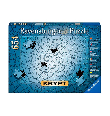Puzzle 654 KRYPT Plata
