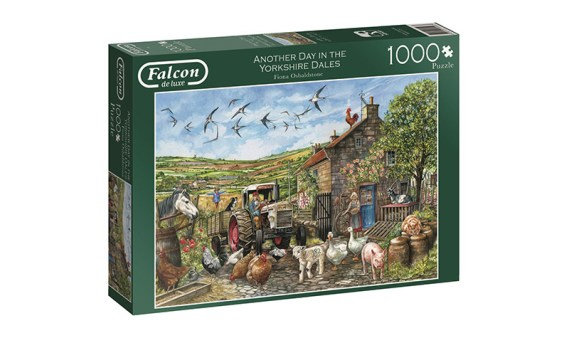 Puzzle 1000 – Another Day in the Yorkshire Dales