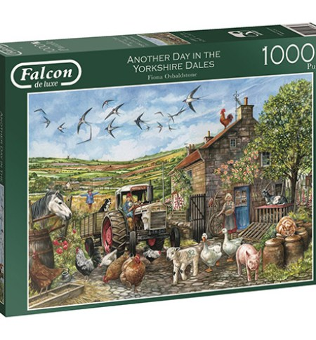 Puzzle 1000 Another Day in the Yorkshire Dales – Falcon