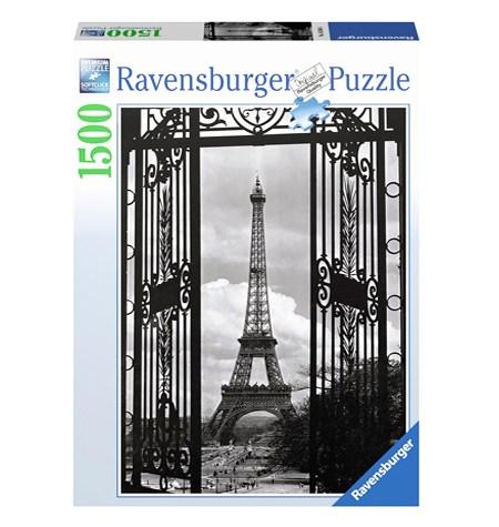 Puzzle 1500 B/N Bienvenido a París – Ravensburger
