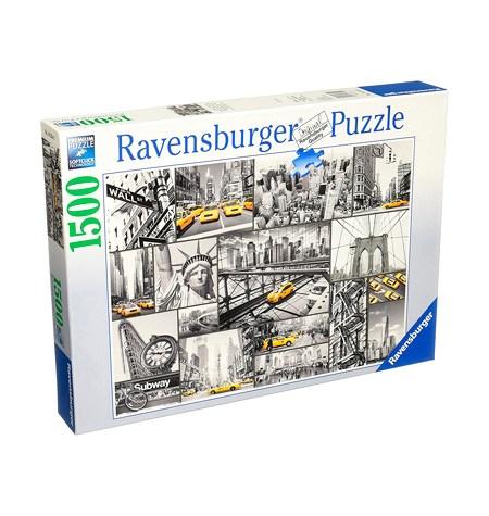 Puzzle 1500 B/N Nota de Color en Nueva York – Ravensburger