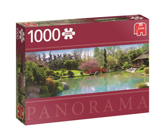Puzzle 1000 Colourful Garden – Panorámico