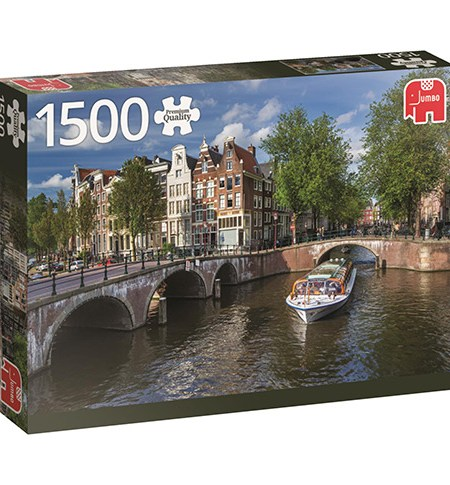 Puzzle 1500 Herengracht, Ámsterdam