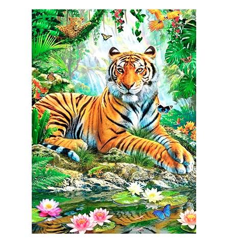 Puzzle 500 Tigre en la Selva – Ravensburger