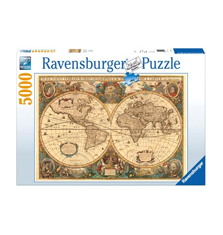 Puzzle 5000 Mapamundi Histórico – Ravensburger