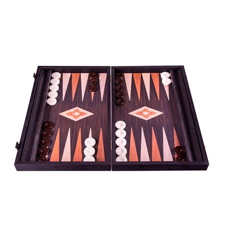 Backgammon Mediano Madera-EF. WENGE