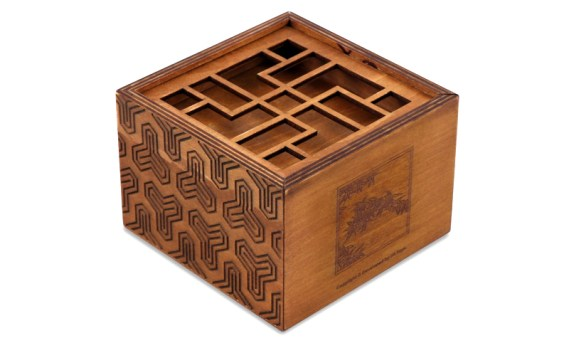 Caja Imposible ZHU – Secret Box Bambú