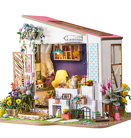 Miniature House DIY – Lily´s Porch