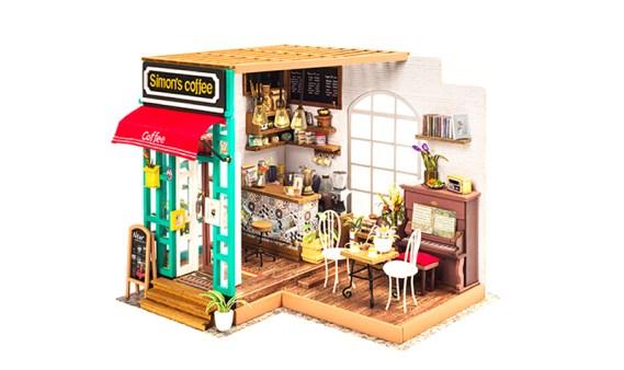 Miniature House DIY – Simon´s Coffee
