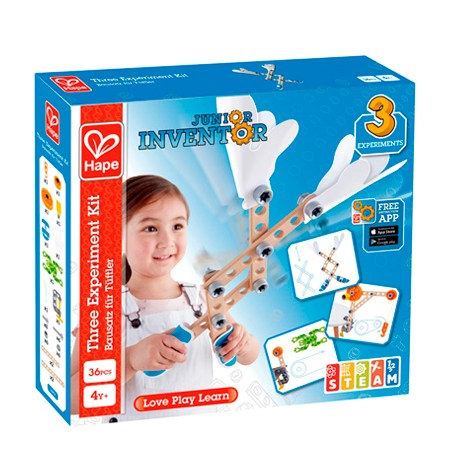 Kit de Experimentos – Junior Inventor
