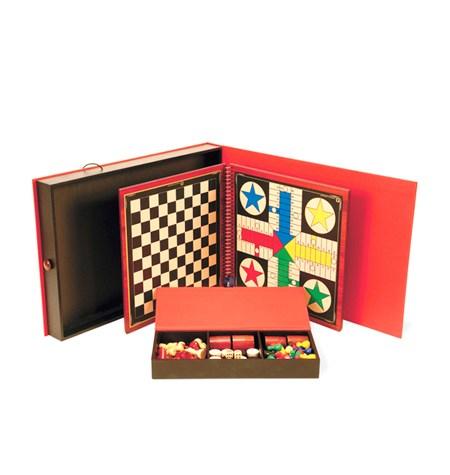 Libro de 11 juegos en Madera