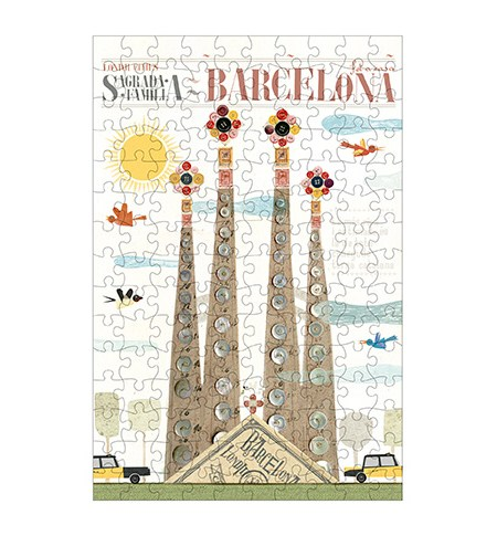 Puzzle 150 MINI – Tubo – Barcelona – Londji