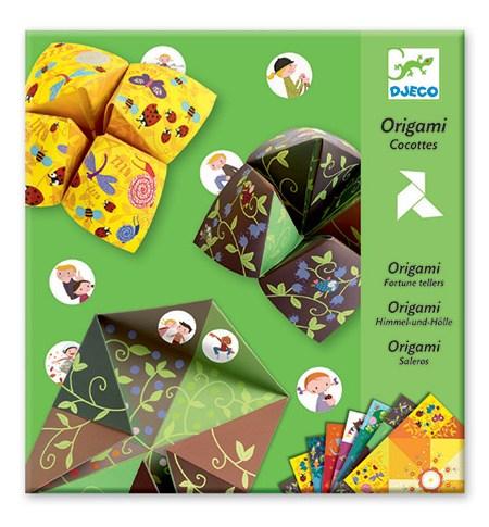 Origami Come-cocos Verde