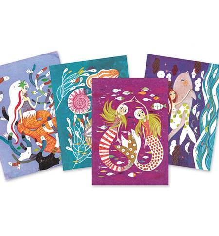 Pintar con Purpurina – Sirenas