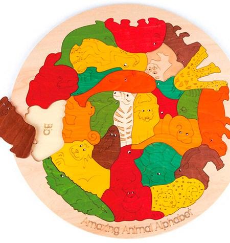 Puzzle Alfabeto de Animales – George Luck