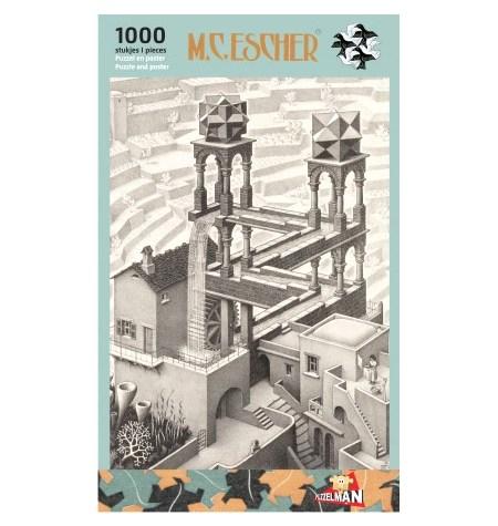 Puzzle 1000 B/N ESCHER – Cascada – Puzzelman