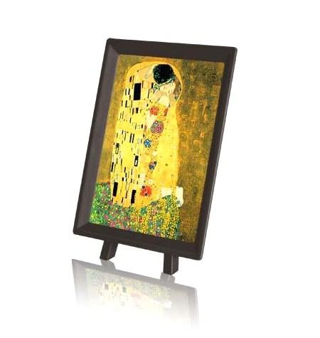 Puzzle 150 MINI – Piezas de Plástico – El beso, Klimt – Pintoo