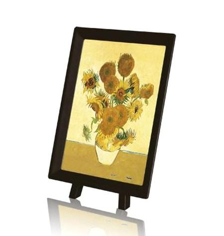 Puzzle 150 MINI – Piezas de Plástico – Los girasoles, Van Gogh – Pintoo
