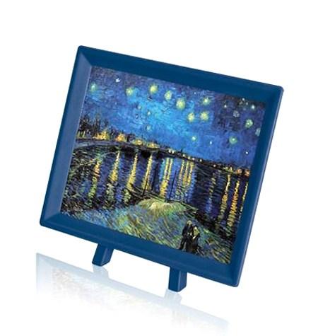 Puzzle 150 MINI – Piezas de Plástico – Noche Estrellada sobre el Ródano, Van Gogh – Pintoo