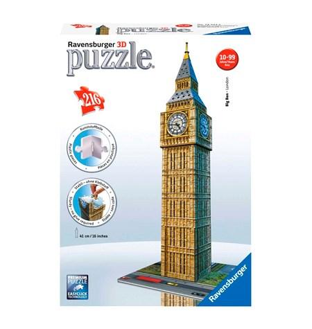 Puzzle 3D – 216 Big Ben, Londres – Ravensburger