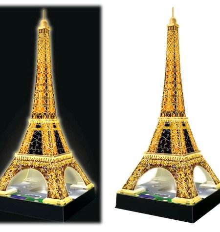 Puzzle 3D LUZ – 216  Torre Eiffel, París