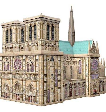Puzzle 3D – 324  Notre Dame, París