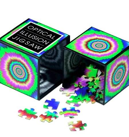 Puzzle 100 Ilusión Óptica de Colores – Lagoon