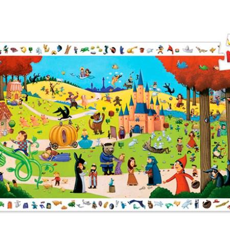 Puzzle y Juego 54 Cuentos – Djeco