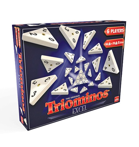 Tridomino Excell para 6 jugadores