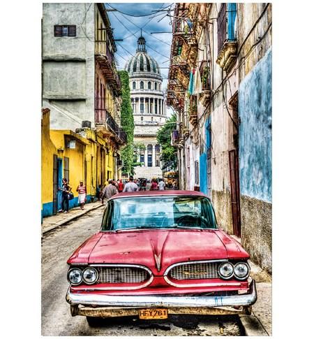 Puzzle 1000 Coche en la Habana – Educa