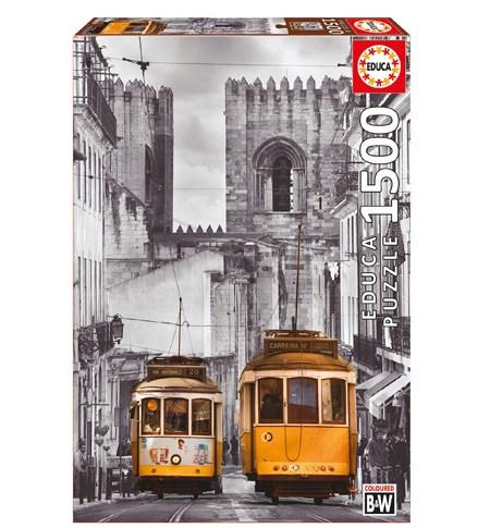 Puzzle 1500 Barrio de Alfama, Lisboa