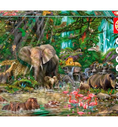 Puzzle 2000 Jungla Africana – Educa