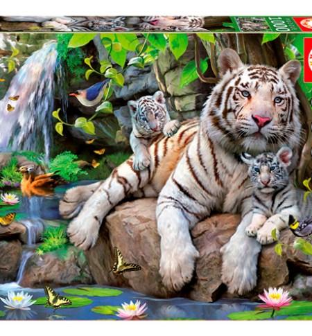 educa puzzle tigres