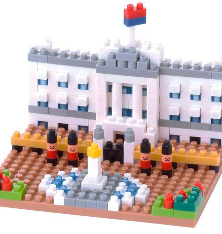 Nanoblock – Buckingham Palace